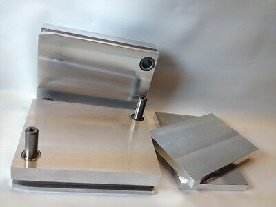 Aluminum Insert Set 07/07 SSU 7075 T651 Injection Mold Base MUD
