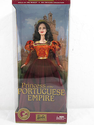 Princess of the Portuguese Empire Barbie Dolls of World Collection 2002 56217