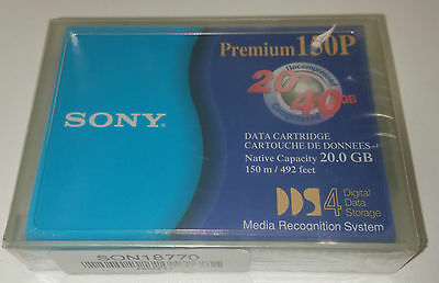 Sony 20/40GB DDS-4 Data Cartridge