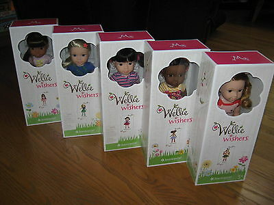 American Girl Wellie Wishers EMERSON Ashlyn WILLA Kendall or CAMILLE Wisher DOLL