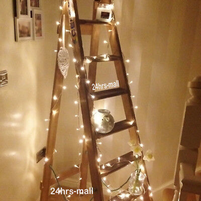 Warm White 20-1000LED Fairy String Lights Indoor Outdoor Wedding Party Xmas DEC