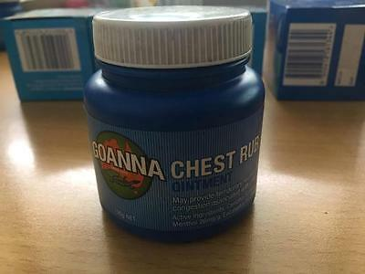 Goanna Chest Rub Pintment 100g for relief nasal congestion & colds  FREE POST