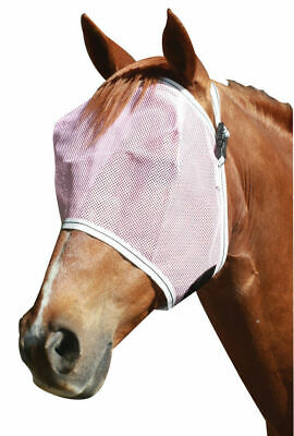 New Horse Pony mesh FLY+MASK fly+veil with Binding UV+Insect protections