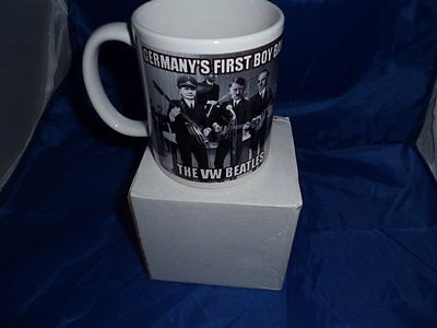 Germany's first ever boy band the VW Beatles mug