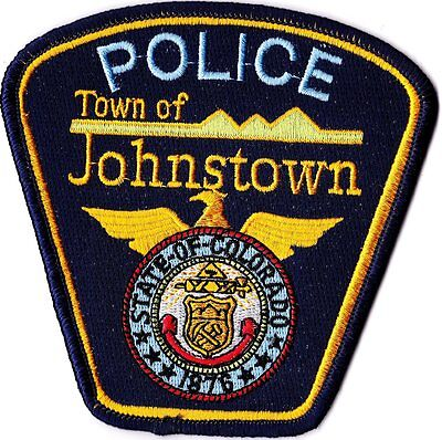 Town of Johnstown Police Colorado CO patch NEW