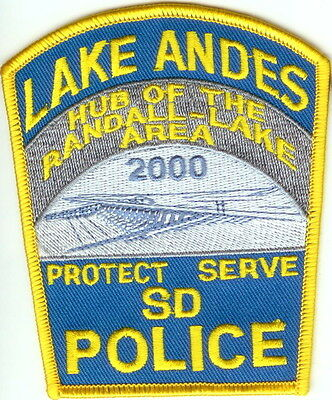 Lake Andes Police Patch South Dakota SD NEW