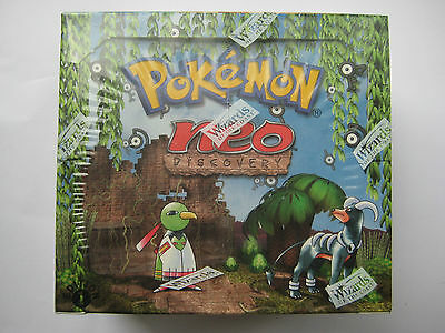Pokemon 1st Edition Neo Discovery Booster Box - Original - Factory WotC Sealed