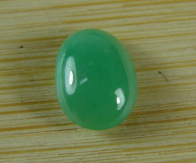 Certified Apple Green Jade Cab Cabochon Type A Jadeite Cabochon A-084-2