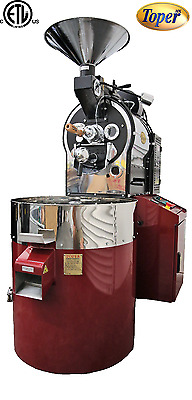 Toper 5 kg/Batch Shop Coffee Roaster 15-38kg/h TKM-SX 5 Artisan Ready