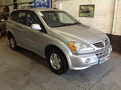 2011 Ssangyong Kyron S 2Wd Silver