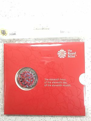 THE ROYAL MINT The Rememberence Day 2016 £5 Coin