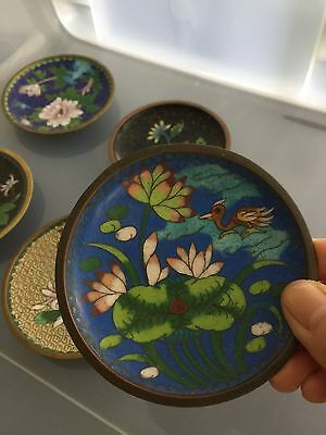 Vintage Chinese Closonie Dishes * A Lot Of 5