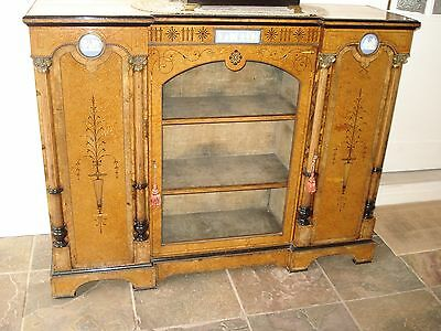 Victorian Amboyna Side Cabinet