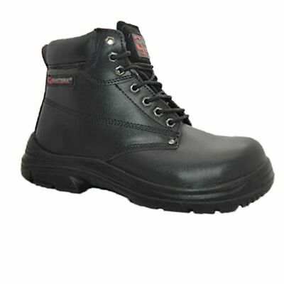 Mens Grafters Wide Eeee Fit Steel Toe Cap Safety Boots Ankle Hiker Work Shoes
