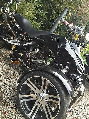 Spy F1 Quad Alloy Wheels X4 With New Tyres Road Legal Rims Breaking For Parts