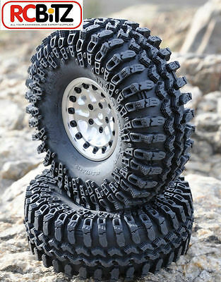 "Interco IROK 1.9"" Tyres 2 RC4WD with Foams Z-T0054 Wide footprint SOFT RC4WD"