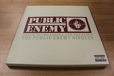 Public Enemy Power To The People And The Beats Boxset