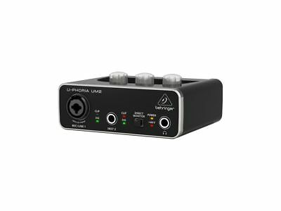 Behringer UPHORIA UM2 interfaccia audio 2x2 usb con phantom +48V