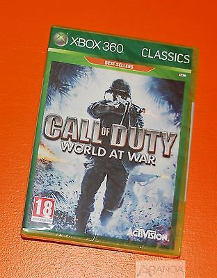 Call of Duty: World at War Xbox 360 New and Sealed
