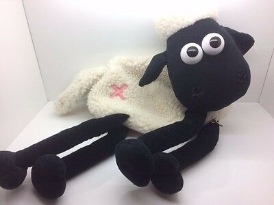 Vintage Wallace and Gromit Shaun the Sheep Pyjama / Hot Water Bottle Cover 1989