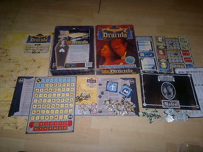 The Fury of Dracula ,Games Workshop Board Game Limited Edition Boxed_Complete,
