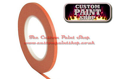 3mm Orange Vinyl Fine Line Masking Tape 55m