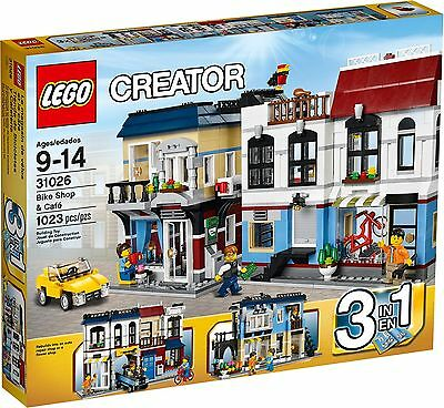 Lego 31026 Creator Bike Shop and Cafe BRAND NEW