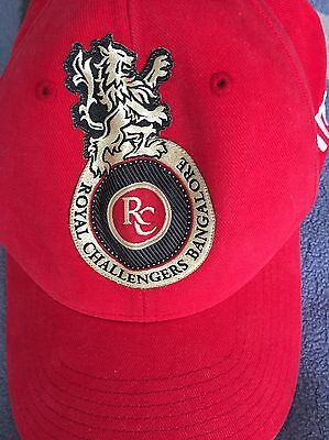Royal challengers Original Signed cricket Shirt Plus Cap