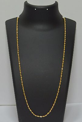 South Indian Gold Looking 22K Gold Plated Long Designer Chain Buy 3 GET 1 FREE
