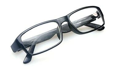 Classic Black Square Frame Nearsighted Minus Distance Myopia Glasses -1.0~4.0
