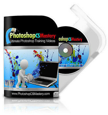 Photoshop CS Mastery Training on DVD  Master Photoshop at Last!