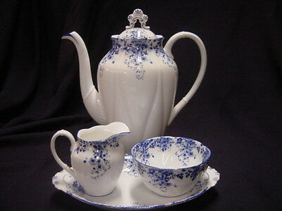 Royal Albert Dainty Blue Coffee Set