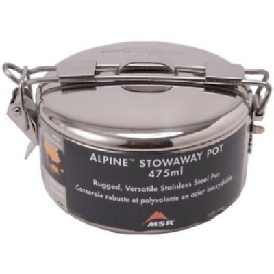 MSR Alpine Stowaway Pot 475ml Camping Cooking