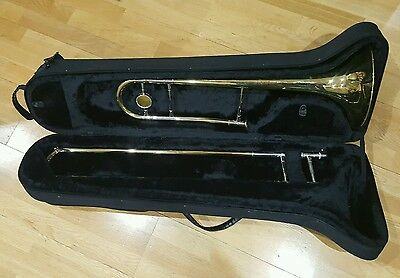 Saramande Trombone Complete With Case And Mouthpiece