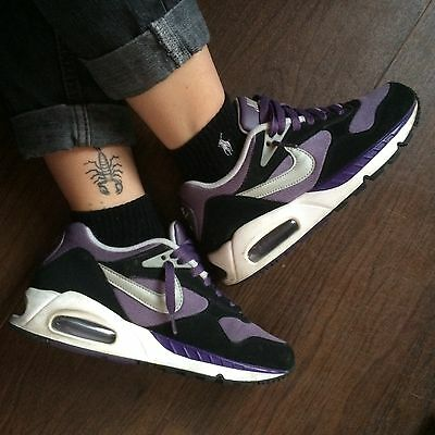 Nike Air Max Command 90's Purple Black Size 3.5