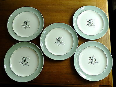 Vintage Copeland Spode Olympus Lunch Plates X 5