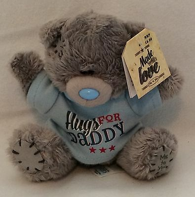 """Me To You Bear Hugs For Daddy - 4"""" Plush - Brand New"""