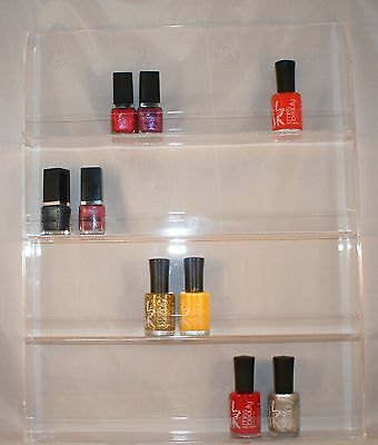 EX Large 4 shelves Wall hang-able Nail varnish stand Organiser Make-up stand