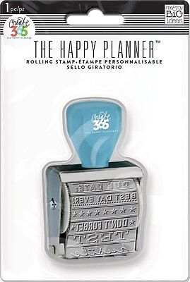 MAMBI Create 365 The Happy Planner To Do Rolling Stamp Back to School Blue