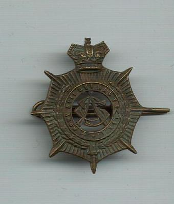 A Victorian Cap Badge for Army Service Corps- ideal Re-enachtments