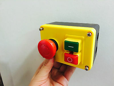 Start / Stop Emergency Stop NVR Switch Machine Safety Switch