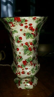Formalities Baum Bros Strawberry Chintz Collection Strawberries 8.5""