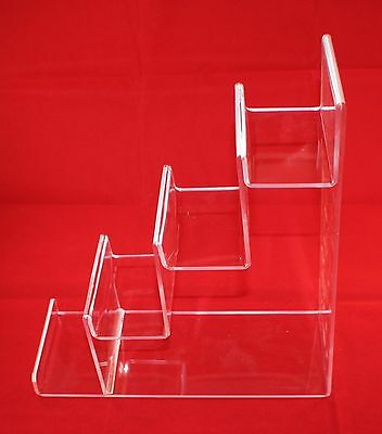 ACRYLIC 4-tier display stand