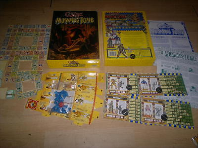 Games Workshop_Curse Of The Mummys Tomb_Complete,Boxed With Metal  Figures_Rare,