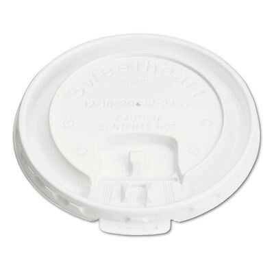 SOLO® Cup Company Lid,Hot Cup, 12 Oz,We DLX12R