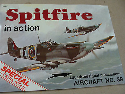 spitfire in action book 39