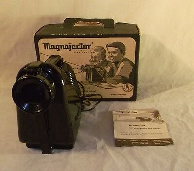 Vintage Toy 1960 Magnajector Magnifier Projector In Box