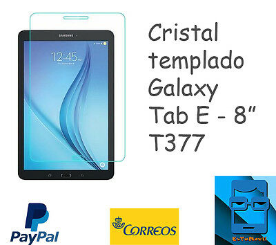 Cristal templado tablet Galaxy Tab Active T360  Tempered Glass