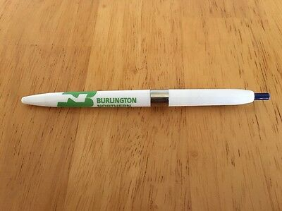 Burlington Northern Vintage Ballpoint Pen Railroad Advertising Collectible