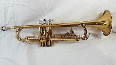 Vintate Holton T602RC Student Trumpet Tatty Gold WITH CASE!